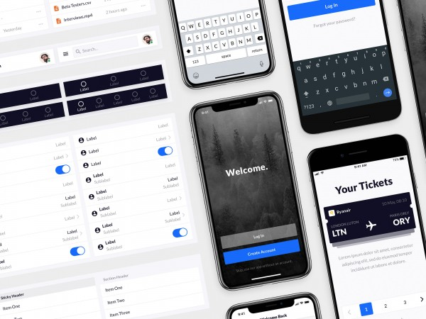 Complete redesign of Mobile Design System